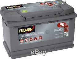 Batterie Fulmen Formula Xtreme 90Ah/720A (FA900)