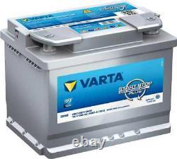 Batterie VARTA Start-Stop Silver Dynamic AGM 60Ah/680A (D52)