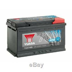 Batterie YUASA YBX7115 EFB 12V 85AH 760A