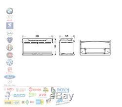 Batterie pour Voiture 12V 100 Ah Positif A Dx 900A Allumage Exide BMW Mercedes