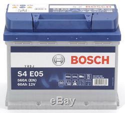 Bosch S4E05 Batterie de Voiture 60A/h-640A