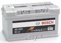Bosch S5015 Batterie de Démarrage Pour Voiture 12V 85Ah 315x175x175