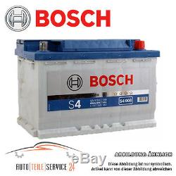 Bosch Silver S4 008 74 Ah 74Ah 680A-EN Voiture Batterie de Démarrage Audi BMW VW