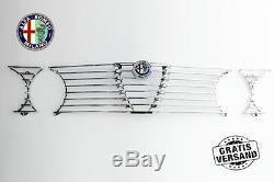 Calandre Grille Alfa Romeo Gtv 2000 Bertone Gt Complet + Emblème Grille