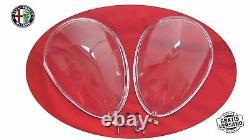 Couvre Phare Plexiglas SPIDER 105/115 66-93 Phrase Ensemble Kit Alfa Romeo