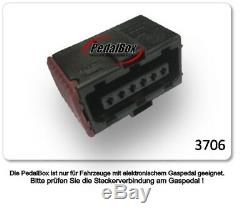 DTE Système Pedal Box 3S pour Opel Astra G 1998-2009 1.8L 16V R4 92KW