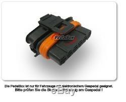 DTE Système Pedal Box Plus pour Alfa Romeo Chevrolet General Motors Fiat Gwm