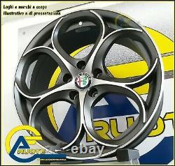 Dubai Mad 4 Jantes en Alliage NAD 18 ET40 X Alfa Romeo Juliette 159 Brera X