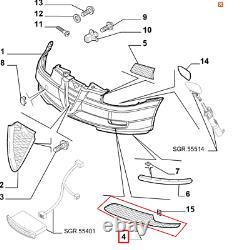 Grille Pare-Choc Alfa Romeo Gt Original 71748469