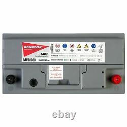Hankook 60038 Batterie de Démarrage Pour Voiture 12V 100Ah 354 x 174 x 190mm