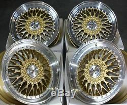 Jantes en Alliage X4 18 Gp Vintage pour 5x98 Alfa Romeo 147 156 164 Gt Fiat