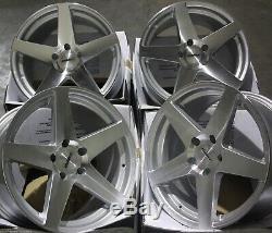 Jantes en Alliage X4 18 Sp Cc-F pour 5x98 Alfa Romeo 147 156 164 Gt Fiat 500l