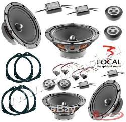 Kit 8 HP enceintes haut-parleurs FOCAL pour FIAT / ALFA ROMEO / LANCIA / OPEL av