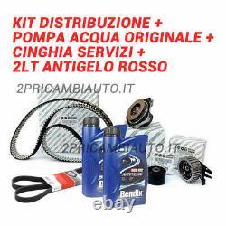 Kit Courroie de Distribution, POMPAH2O, Services 2L Antigel Alfa 159 1.9 Jtdm