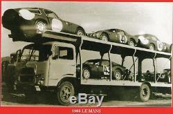 Kit Fiat 662 N2 Trasporto Alfa Romeo Le Mans 1965 ALM Models kit 1/43