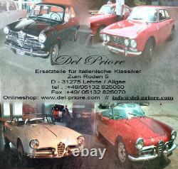 Kühlerherz Calandre Rein Alfa Romeo Montréal 70-77 Chrome Rare Neuf