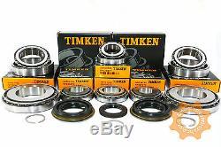 M20 Boîte de Vitesse Kit Réparation Roulement Timken 8 4 Joint (27mm Entrée)