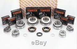 M32 Boîte de Vitesse Kit Réparation Roulement Timken 8 4 Joint (27MM Entrée)
