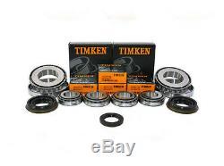 M32/M20 Boîte de Vitesse Kit Réparation Roulement TIMKEN 6 4 Joint (25MM Entré)