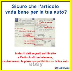 Module Actuateur Vannes Orig. Fiat 500X Abarth 124 Alfa Giulietta 1.4 Multiair