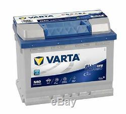 N60 VARTA Start-Stop 12Volt 60Ah Batterie de Voiture (D53)