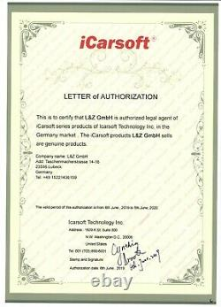 OBD Diagnostic iCarsoft FT II pour Fiat / Alfa Romeo Allemand Marchands