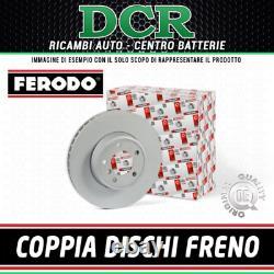 Paire Disques Frein Avant FERODO DDF1411 Alfa Chrysler Fiat Lancia