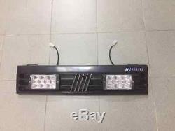 Panneau Grille Radiateur Fiat Panda 141 750 900 1000 1100 4x4 Spots Leds