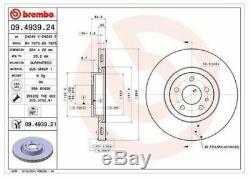 Plaquettes de Frein Kit et Disques Brembo Alfa 147 (937) 1.9 Jtdm 16V 150CV