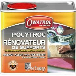 Rénovateur Plastiques Multi-Surfaces Polytrol 0.5 L pare-choc auto Métaux Marbre