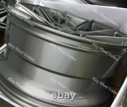 Roues Alliage 19 cc-A Pour Alfa 159 Cadilac BLS Fiat Croma Saab 9-3 9-5 Gris