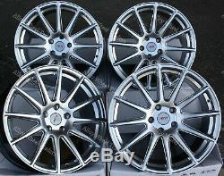 Roues Alliage X 4 18 Argent AYR 02 Pour 5X98 Alfa Romeo 147 156 164 Gt Fiat
