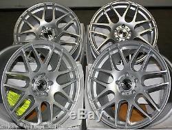 Roues Alliage X 4 18 S Exile pour 5x98 Alfa Romeo 147 156 164 Gt Fiat 500l
