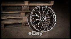 Roues Alliage X 4 19 Mgm R10 pour Alfa Romeo 159 Jeep Cherokee Saab 9-3 9-5