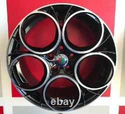 Scuderia BP Set 4 Jantes en Alliage Compatible Avec Alfa ROMEO159 Sportwagon