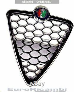 Scudo Grille Nid D'Abeille avec Cadre Noir Alfa Romeo Giulietta 16 OE
