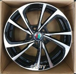 Set 4 Jantes en Alliage 16 Alfa Romeo Giulietta 159 Giulia Fiat 500 X Croma NAD