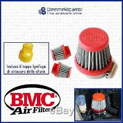 Set Filtre Cônique BMC + Bouchon Fiat 500 595 Abarth Évent Externe Pop Off