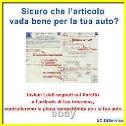 Set Renforcement Turbo TD04 SFM230 Alfa Romeo Fiat Abarth 1.4 Multiair + 235 Cv