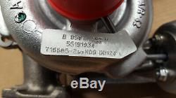 Turbocompresseur Alfa Romeo 147 156 Fiat Stilo 1.9 JTD 140 150cv 716665 5519193