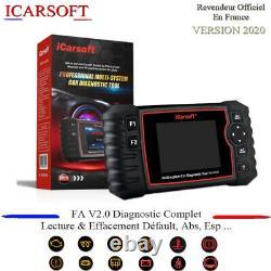 Valise Diagnostic pro icarsoft FA V2.0 Alfa Roméo & Fiat version 2020