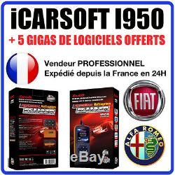 Valise Diagnostique FIAT & ALFA ROMEO iCARSOFT I950 MULTIECU KKL Diag OBD2