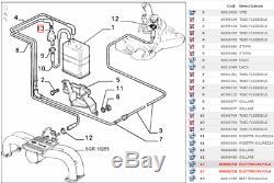 Vanne De Évent Réservoir Essence Alfa 145 BMW Fiat Bosch 0280142150 60808358