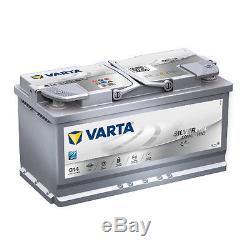 Varta G14 Argent Dynamique AGM 595 901 085 Batterie de Voiture 95Ah Prêt à