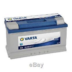 Varta G3 Blue Dynamic 595 402 080 Batterie de Voiture 95Ah Prêt à L'Emploi