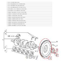Volant D'Inertie Moteur Complet Fiat Alfa Romeo Lancia pour 7680547